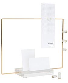 Acrylic Base Memo Display