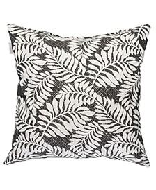 """Fern Print 22"""" x 22"""" Outdoor Decorative Pillow"""