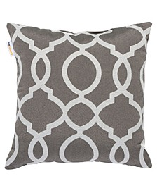 "Trellis Print 20"" x 20"" Outdoor Decorative Pillow"