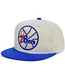 Philadelphia 76ers Natural XL Snapback Cap