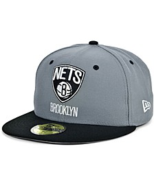 Brooklyn Nets Storm 2 Team Color 59FIFTY-FITTED Cap