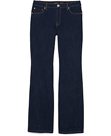 INC Plus Size Elizabeth Bootcut Denim Jeans, Created for Macy's