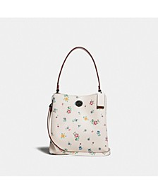 Charlie Bucket Bag 21 With Wildflower Print
