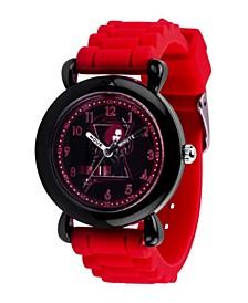 Marvel Black Widow Girls' Black Plastic Watch 32mm