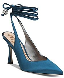 Women's Harvie Ankle-Tie Pumps