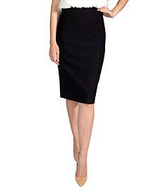 Soho Apparel Ltd Women's Pull On Pencil Skirt