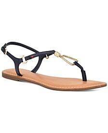 Leuca Flat Sandals