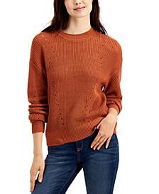 Juniors' Crewneck Sweater