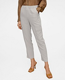 Women's Modal Cargo Trousers