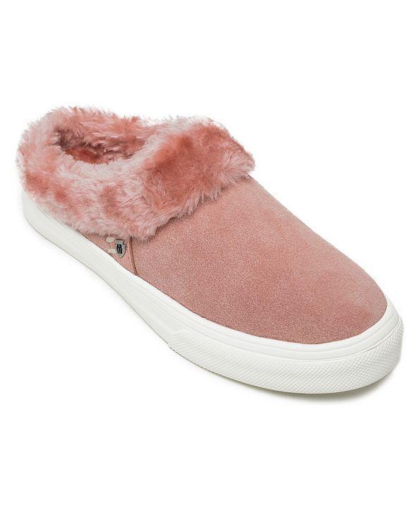 Minnetonka Windy Pile-Lined Slip-On Sneakers