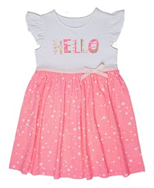 Little Girls Hello Dress