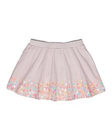 Little Girls Ditsy Heart Scooter Skirt