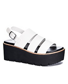 Women's Pendulum Platform Sandals
