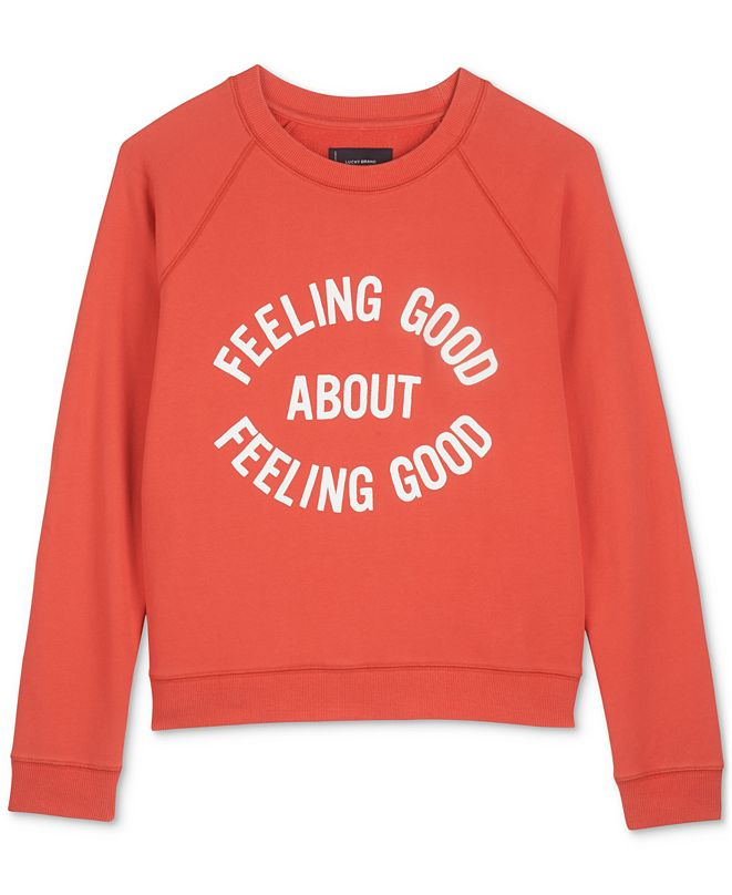 Lucky Brand Feeling Good Sweatshirt