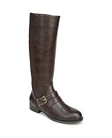 Filomena Wide Calf High Shaft Boots