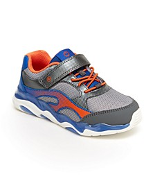 Toddler Boys SR Lighted Swirl Athletic Shoe