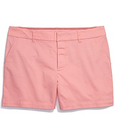 Women's Stretch Shorts with Velcro® Closure & Magnetic Fly