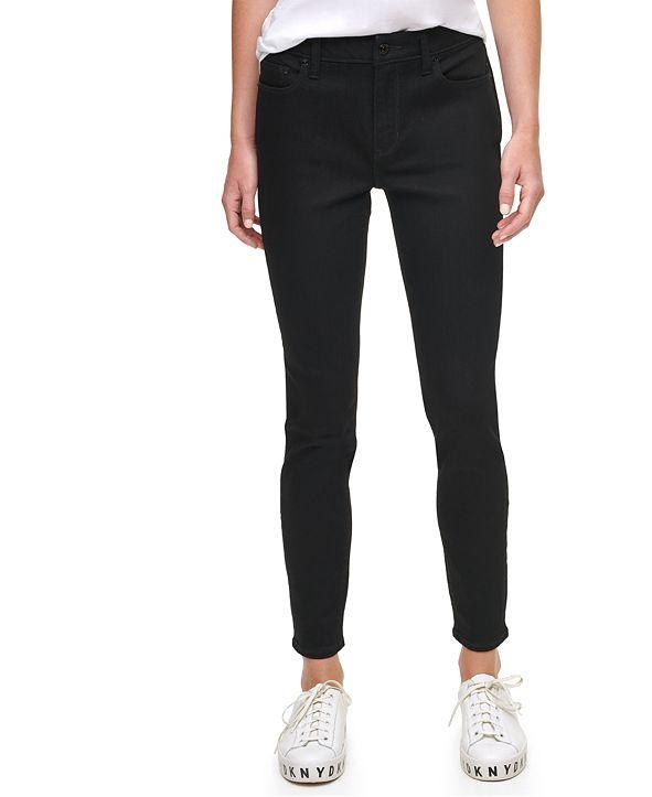 DKNY Jeans Varick Mid Rise Skinny Jean