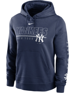Nike Women's New York Yankees 2020 Club Po Hoodie