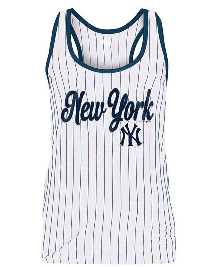 5th & Ocean - Women's New York Yankees Pinstripe Tank