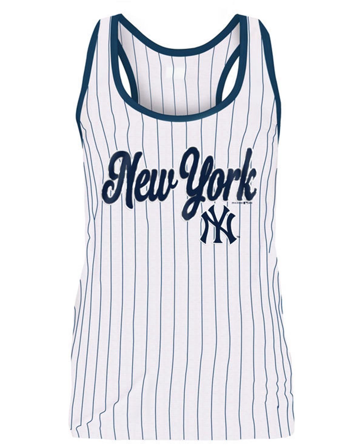 5th & Ocean Womens New York Yankees Pinstripe Tank