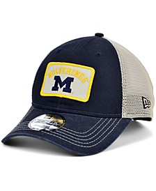 Michigan Wolverines Patch Trucker 9FORTY Cap