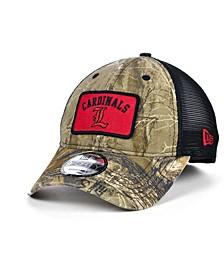 Louisville Cardinals Patch Trucker 9FORTY Cap