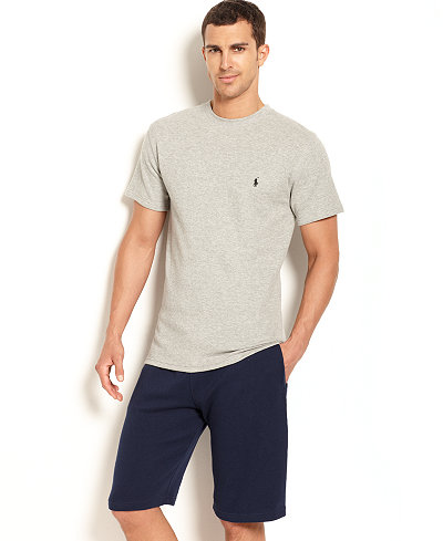 Polo Ralph Lauren Men's Loungewear, Short Sleeve Thermal Top and Shorts