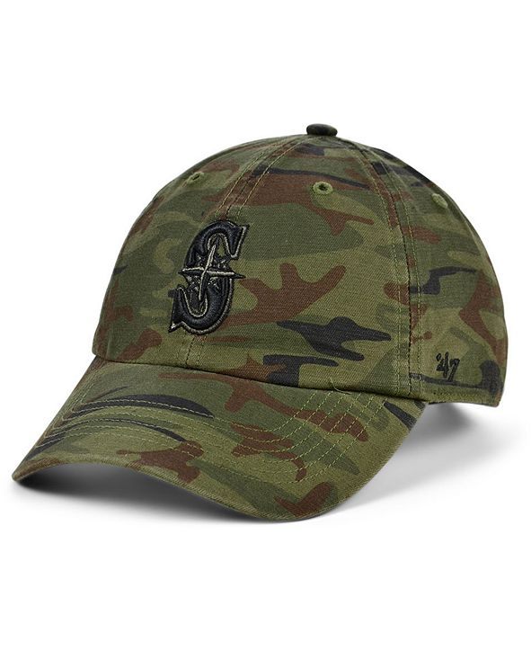 '47 Brand Seattle Mariners Regiment CLEAN UP Cap