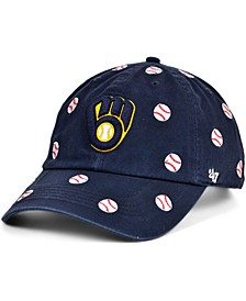 Milwaukee Brewers Women's Confetti Adjustable Cap