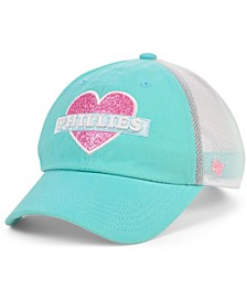 Girls Philadelphia Phillies Mermaid Heart MVP Cap