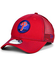 Philadelphia Phillies Logo Fill Trucker 9FORTY Cap