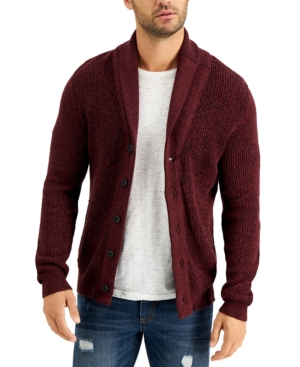Men's Vintage Sweaters History Sun  Stone Mens Shaker Button Cardigan $19.99 AT vintagedancer.com