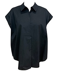 Pleated-Back Shirt, Created for Macy's