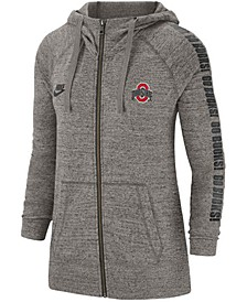 Ohio State Buckeyes Women's Gym Vintage Full Zip Hoodie