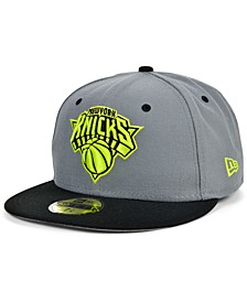 New York Knicks Cyber Storm 59FIFTY Fitted Cap