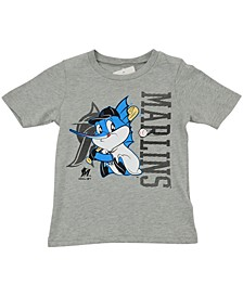 Toddlers Miami Marlins  Mascot T-Shirt