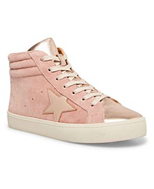 Lula Lace-Up High-Top Sneakers