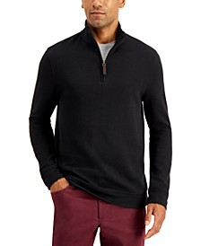 Men's Quarter-Zip Sweatshirt, Created for Macy's