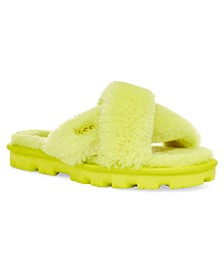 Women's Fuzzette Sandal Slippers
