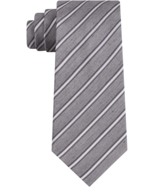 Kenneth Cole Reaction Men's Barry Skinny Stripe Tie