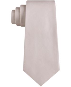 Calvin Klein Men's Light Faille Solid Skinny Tie