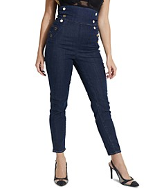 Eco Gwen Super-High Rise Corset Jeans