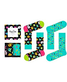 Women's Cat Socks Gift Box, Pack of 2