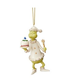 Grinch Serves The Feast Ornament