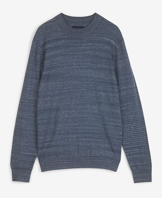 Lucky Brand Men's Spacedye Welterweight Crewneck Sweater