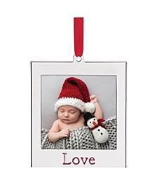 Love Photo Ornament