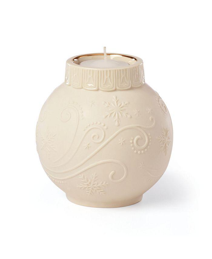 Lenox - Ornamental Glow Snowflake Votive Candleholder