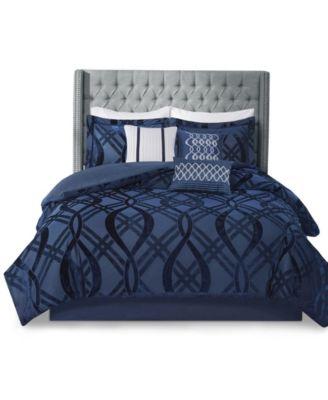 Dolores 7 Piece California King Comforter Set