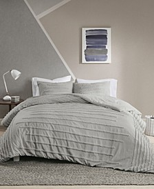 Mercer 3 Piece King/California King Duvet Cover Set